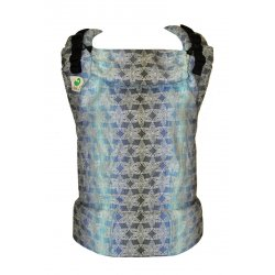 MoniLu ergonomic babycarrier UNI (Adjustable) FlowerField Night 1