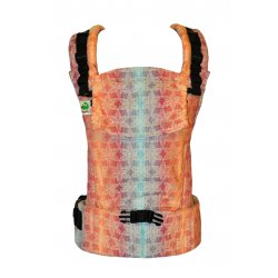 MoniLu ergonomic babycarrier UNI START FlowerField Night