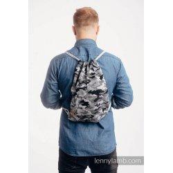 LennyLamb Bag SackPack Grey Camo