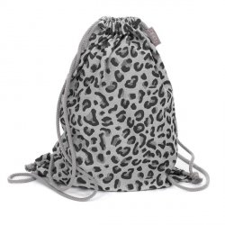 Fidella Sling Bag Leopard silver