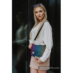 LennyLamb Waist Bag/Bag 2in1 CITY - Big Love Rainbow Dark