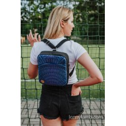 LennyLamb Backpack/Crossbody Bag 2in1 SPORTY - Peacock's Tail - Provance