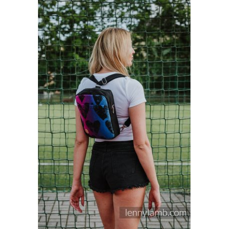 LennyLamb Backpack/Crossbody Bag 2in1 SPORTY - Lovka Pinky Violet