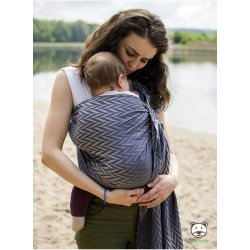 Luna Dream ring-sling Herringbone Grey