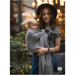 Luna Dream ring-sling Herringbone Mono