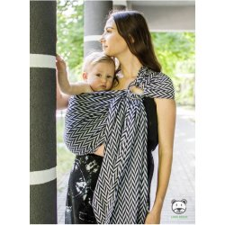 Luna Dream ring-sling Herringbone Mono Ring