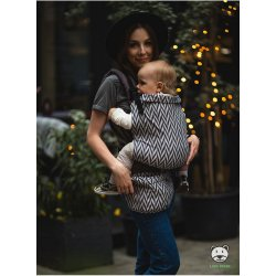 Luna Dream Adjustable babycarrier Grow Up Wrap: Herringbone mono