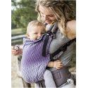 Luna Dream Adjustable babycarrier Grow Up Wrap: Herringbone purple