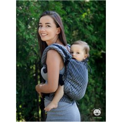 Luna Dream Adjustable babycarrier Multi Size: Herringbone grey