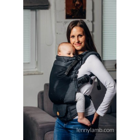 LennyLamb LennyUpGrade Mesh adjustable ergonomic carrier - Basic Line - Galaxite