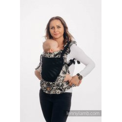 LennyLamb LennyUpGrade Mesh adjustable ergonomic carrier - Clockwork