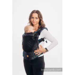 LennyLamb LennyUpGrade Mesh adjustable ergonomic carrier - Trinity Cosmos