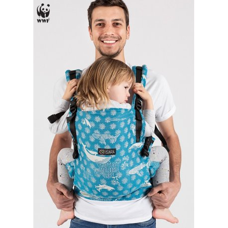 Isara adjustable ergonomic carrier The One - Marine Life Oceania