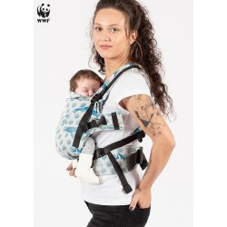 Isara adjustable ergonomic carrier The One - Marine Life Breeze