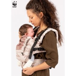 Isara adjustable ergonomic carrier The One - Wildlife Sandy