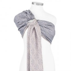 Fidella ring sling Paperclips - ash blue