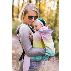 Lenka ergonomical babycarrier - Tropical Juice