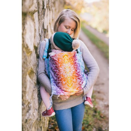 Lenka ergonomical babycarrier - Mandala - Day