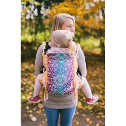Lenka ergonomical babycarrier - Mandala - Night