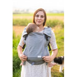 Lenka ergonomical babycarrier - 4ever - Grey
