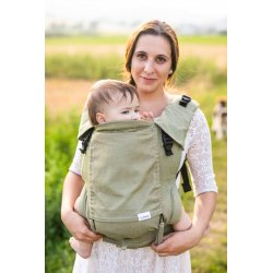 Lenka ergonomical babycarrier - 4ever - Green