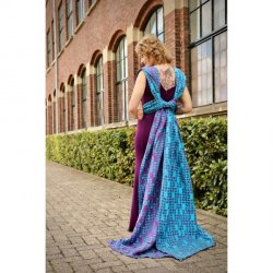 Yaro Petals Ultra Purple Blue Bamboo Tencel