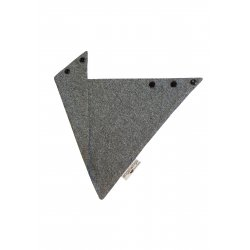 Angel Wings Triangular Bamboo - grey