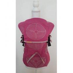 Andala ergonomical babycarrier Labyrint Rosa