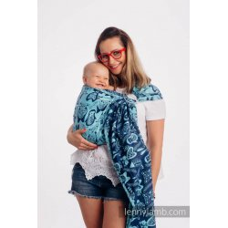 LennyLamb ring sling Playground - Blue