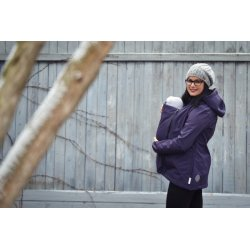 Angel Wings Softshell Jacket - plum