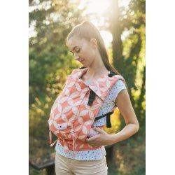 Lenka ergonomical babycarrier - 4ever - Classic Peach Diamond
