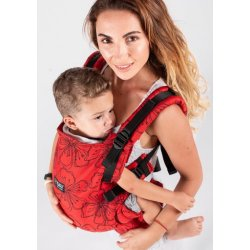 Isara adjustable ergonomic carrier The One - Bloom in Rouge