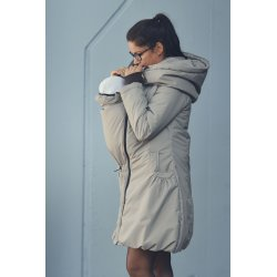 Angel Wings Winter Coat Beige