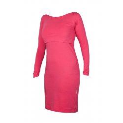 Angel Wings Dress Long sleeved Raspberry pink