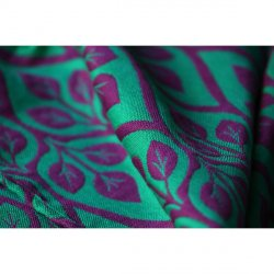 Yaro La Vita Contra Purple Green Wool Hemp