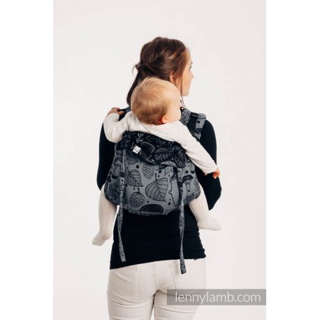 LennyLamb Onbuhimo back carrier - Under The Leaves - Night Venture