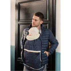 Isara babywearing cover Deep Blue Melange 2019