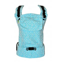 MoniLu ergonomic babycarrier UNI START Azure