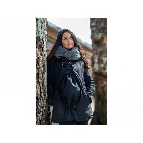Wombat & Co. Winter Jacket WALLABY 2.0 Black & Charcoal Grey