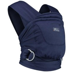 Ergonomic Babycarrier Caboo+Cotton Blend Eclipse