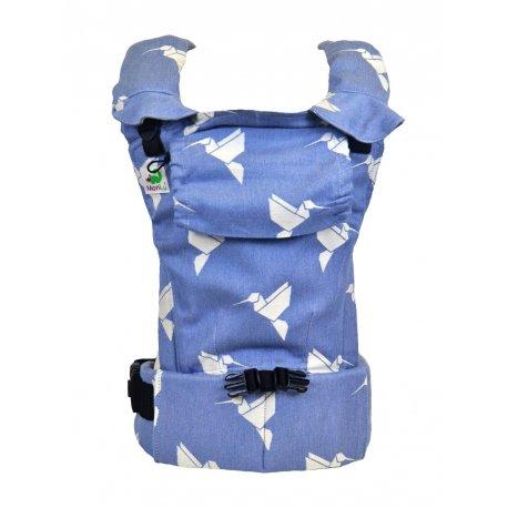 MoniLu ergonomic babycarrier UNI START Colibri Sky