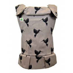 MoniLu ergonomic babycarrier UNI (Adjustable) Colibri Sand