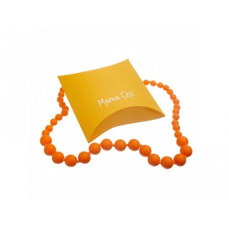 Silicone beads Mama Chic - orange