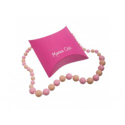 Silicone beads Mama Chic - rose