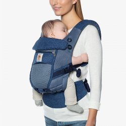 Ergobaby Adapt Cool Air Mesh - Blue Blooms
