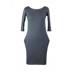 Angel Wings Dress with pockets - grey