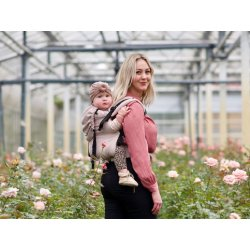 Pure Baby Love Ergonomic babycarrier Click & Go Rose