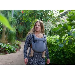 Pure Baby Love Ergonomic babycarrier Click & Go Navy