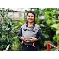 Pure Baby Love Ergonomic babycarrier Wrap & Go Charcoal