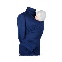 Angel Wings Wrap Sweatshirt dark blue